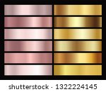 set of texture gradation... | Shutterstock .eps vector #1322224145