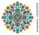 geometric ethnic decoration.... | Shutterstock .eps vector #1322234378