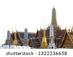 grand palace or wat phra keaw...   Shutterstock . vector #1322236658