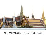 grand palace and wat phra keaw...   Shutterstock . vector #1322237828
