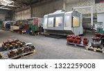 cnc machines at the plant for... | Shutterstock . vector #1322259008