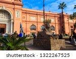 cairo  egypt   december 8  2018 ... | Shutterstock . vector #1322267525