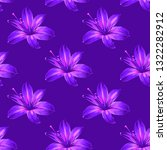 seamless floral pattern with... | Shutterstock .eps vector #1322282912