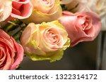 rose flowers for calendar and... | Shutterstock . vector #1322314172