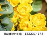 rose flowers for calendar and... | Shutterstock . vector #1322314175