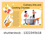 culinary art and cooking... | Shutterstock .eps vector #1322345618