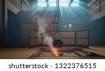 tsumago juku interior. orient... | Shutterstock . vector #1322376515