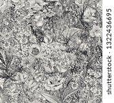 seamless floral pattern. summer ...   Shutterstock .eps vector #1322436695