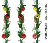 set of 3 endless horizontal...   Shutterstock .eps vector #1322465282