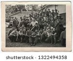 the czechoslovak socialist... | Shutterstock . vector #1322494358