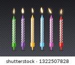 Birthday Candle. Candlelight...