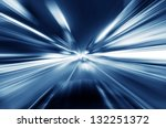 car on the road with motion... | Shutterstock . vector #132251372