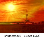 shale gas drilling with sunrise ...