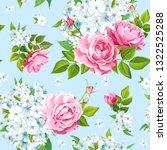 wonderful floral background...   Shutterstock .eps vector #1322525288