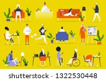 big set of business people.... | Shutterstock .eps vector #1322530448