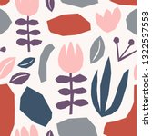seamless repeating pattern with ... | Shutterstock .eps vector #1322537558