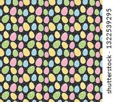 colorful easter texture with... | Shutterstock .eps vector #1322539295