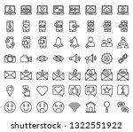 social media vector icon set ...