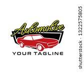 automotive logo design | Shutterstock .eps vector #1322575805