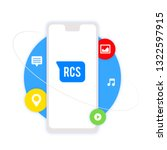 rcs   vector graphics  media... | Shutterstock .eps vector #1322597915