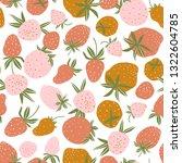 berry seamless pattern for... | Shutterstock .eps vector #1322604785