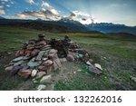 Shepherd Shelter In Himalayas...