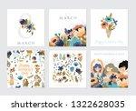 vector set of  illusttation. 8... | Shutterstock .eps vector #1322628035