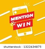 post design contest to win ... | Shutterstock .eps vector #1322634875