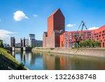 marina of duisburg  germany  | Shutterstock . vector #1322638748