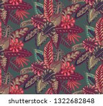beautiful seamless pattern with ... | Shutterstock .eps vector #1322682848