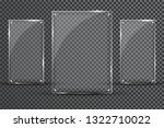 glass plates are installed.... | Shutterstock . vector #1322710022