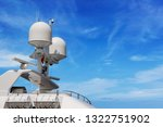 detail of a luxury white yacht...   Shutterstock . vector #1322751902