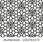 pattern with intersecting... | Shutterstock .eps vector #1322761172