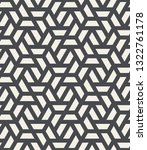 pattern with intersecting... | Shutterstock .eps vector #1322761178