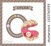 letter o uppercase cute...   Shutterstock .eps vector #1322765555