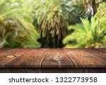 empty wooden table background | Shutterstock . vector #1322773958