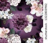 floral seamless pattern... | Shutterstock .eps vector #1322803982