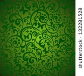Spring Green Background With...