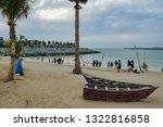 dubai uae 20 02 2019  the la...   Shutterstock . vector #1322816858