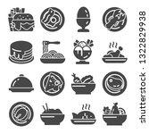 vector illustrations food icon... | Shutterstock .eps vector #1322829938