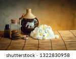 spa oil massaging treatment and ... | Shutterstock . vector #1322830958