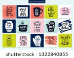 hand drawn typography poster.... | Shutterstock .eps vector #1322840855