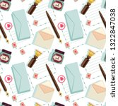 seamless pattern on the theme... | Shutterstock .eps vector #1322847038