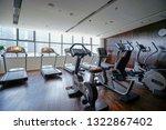 modern light gym. sports... | Shutterstock . vector #1322867402
