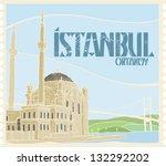 istanbul ortakoy | Shutterstock .eps vector #132292202