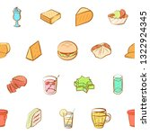 food images. background for... | Shutterstock .eps vector #1322924345