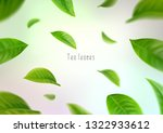 3d realistic isolated tea... | Shutterstock .eps vector #1322933612