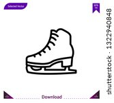 ice skating  icon vector . best ...