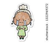 distressed sticker of a cartoon ...   Shutterstock .eps vector #1322969372