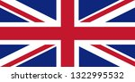 flag of united kingdom of great ... | Shutterstock .eps vector #1322995532